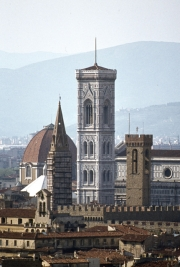 The Campanile and Baptistry