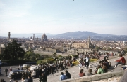 General view from Piazzale Michelangelo