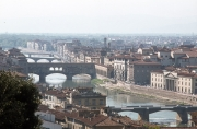 The Arno from Piazzale Michelangelo