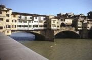 Ponte Vecchio, downstream side