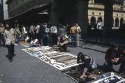 Hawkers on Ponte Vecchio