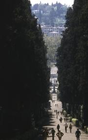Long Alley in the Boboli Gardens