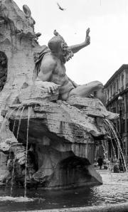 Fountain statue