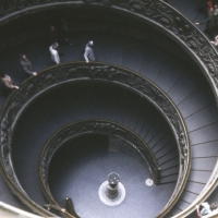 Spiral Ramp in The Vatican Palace