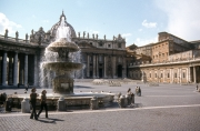 Fountain in St Peter's Square