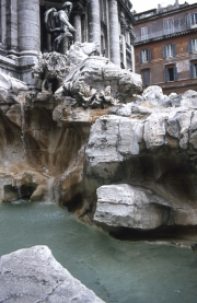 Trevi Fountain - close-up of the blocks