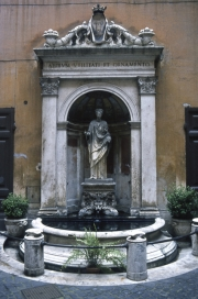 Palazzo Courtyard and Fountain
