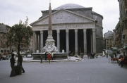 The Pantheon and Fountain