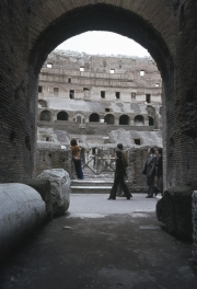 The Coliseum, Interior and Archway