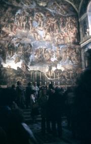 Last Judgement, Sistine Chapel