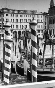 Grand Canal Paline (mooring poles)