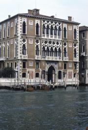 Grand Canal - Palazzo Gussoni Cavalli Franchetti