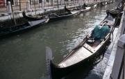 Moored Gondolas
