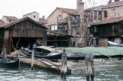 Squero at San Trovaso - Gondola boatyard