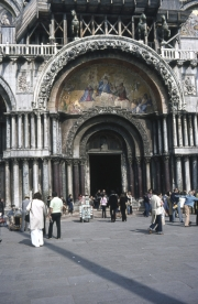San Marco - Main doorway with the original horses