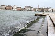 San Giorgio, steps awash