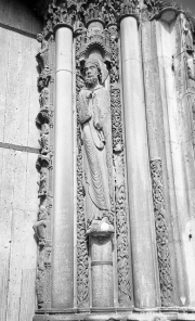 Statues at Cathedral Door