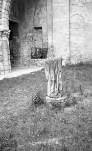 Broken Statue, Jumieges Abbey