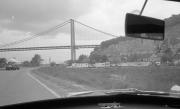 Approaching Pont de Tancarville