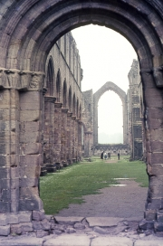 Fountains Abbey, the Nave