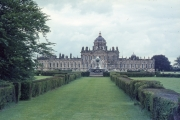 Castle Howard - back view with Atlas Fountain