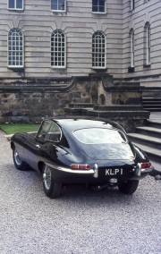 E-Type Jaguar 4.2 at Castle Howard