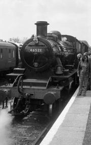 Loco 46521 at Bewdley