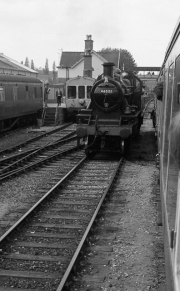 Engine changing ends at Bewdley