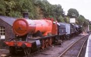 Severn Valley Railway engines under repair