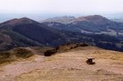 Malvern Hills from the Malvern Beacon