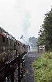 Severn Valley Railway - train at Northwood Halt