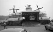 Loading the hovercraft