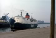 Sealink ferry leaving port