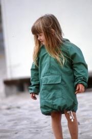 Small girl on the beach