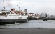 Turning ferry
