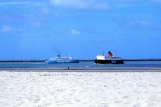 Two ferries