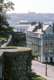 Boulogne from the Ramparts