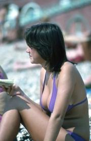 Mauve bikini