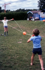 Ball on a string game