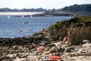 Benodet harbour from Letty rocks