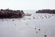 Benodet harbour from the bridge