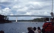 Benodet bridge from the boat