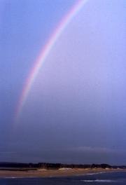 Rainbow over Letty