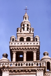 Ornate church tower