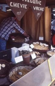 Benodet Market cheese stall