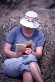 Greta reading