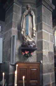 Statue of the Virgin