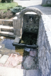 Well and washing place