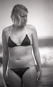 Lady in bikini