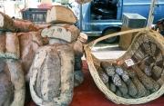 Benodet Market - bread stall